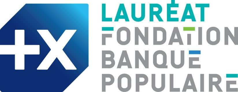 Logo Lauréat Fondation Banque Populaire | Stef Binon